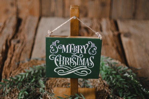 SIGN - MERRY CHRISTMAS NO1