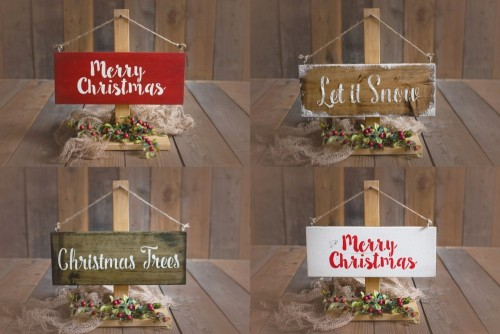 PLAQUE - CHRISTMAS SERIES