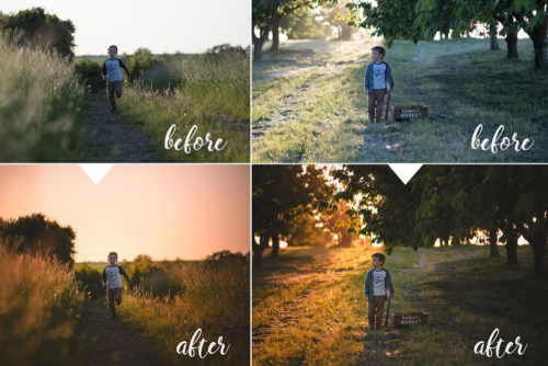 LIGHTROOM PRESET - SUNSET