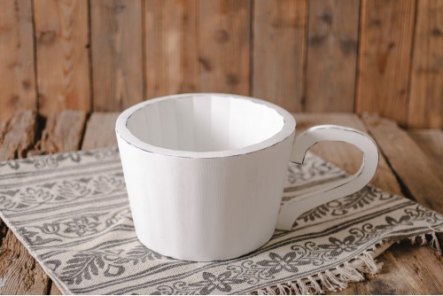 WOODEN CUP BOWL