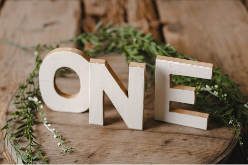 """WOODEN """"ONE"""" LETTERS"""