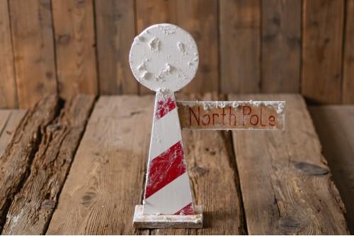 """NORTH POLE"" - SIGN"