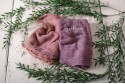 CHEESECLOTH WRAP - PINK TONES