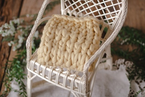 EGG NOG MERINO BLANKET